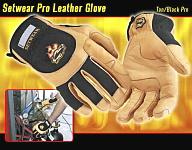 Setwear Pro Leather Glove Tan - Click here to have a closer look!